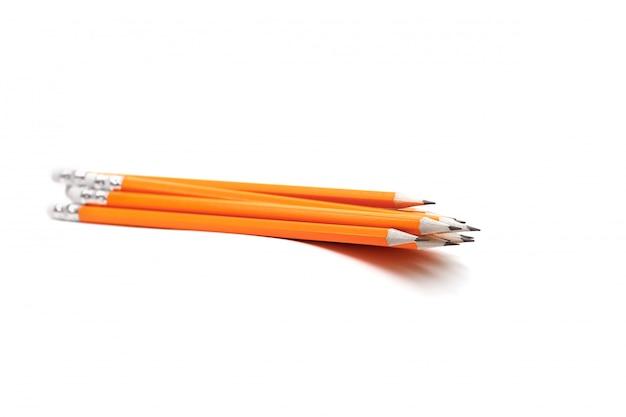Bleistifte mit radiergummis