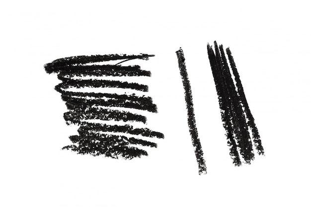 Bleistiftzeichnungs-illustrationskunst bilden schönheitskosmetik