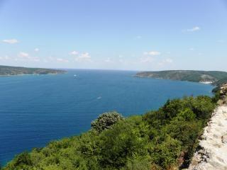Blick auf das ende des bosporus