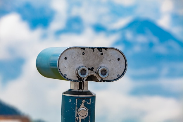 Blick auf die schweizer alpen von rigi kulm