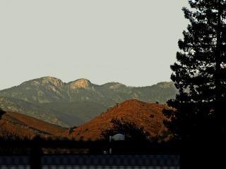 Blick auf morro rock im sequoia national p