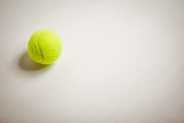 Blick auf tennisball