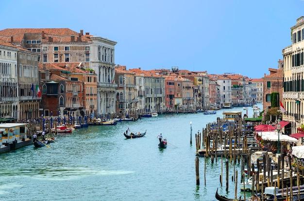 Blick auf venedig und den canal grande