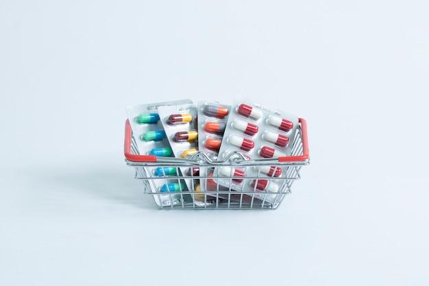 Blister im korb drogerie verkaufsservice