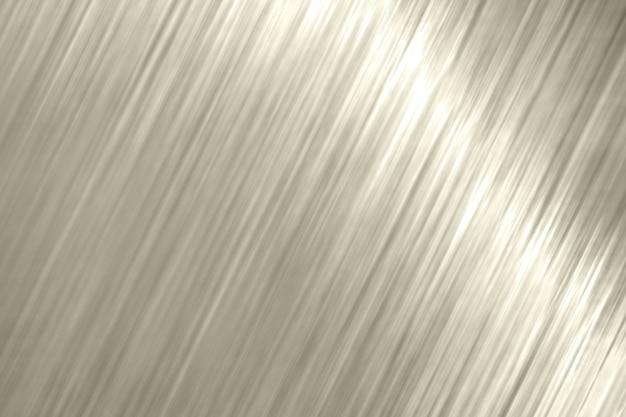 Blond metallic schräge linien strukturierter hintergrund