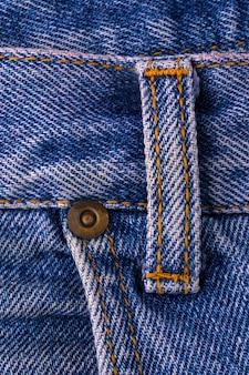 Blue jeans textur fragment nahaufnahme