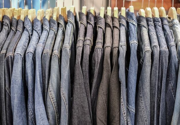 Blue jeanshemd im shop