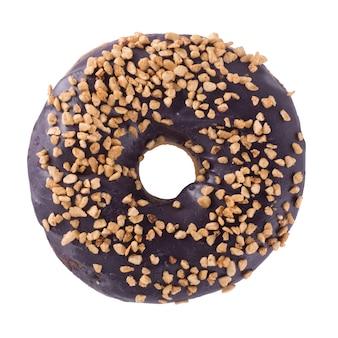 Blueberry donut mit streuseln