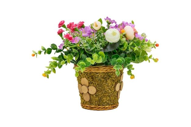 Blumen auf bürotische