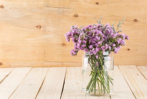 Blumen eimer zweig string blau