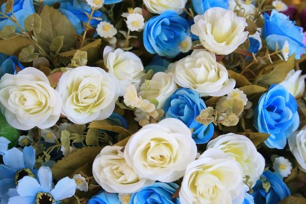 Blumen mischten blumenstrauß für hintergrund