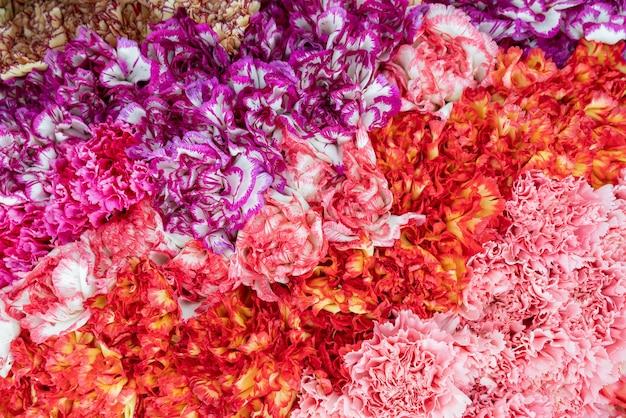 Blumen schöner strauß. dekorativer blumiger natürlicher hintergrund.