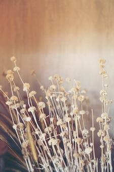 Blumen zur dekoration in restaurants und cafés