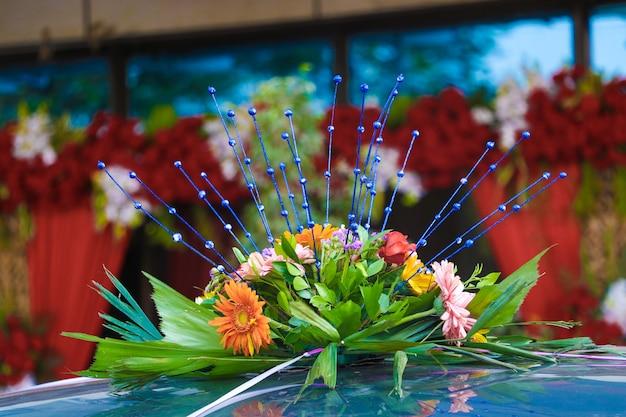 Blumendekoration design