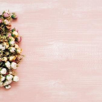 Blumensträuße mit kopie platz auf der rechten seite