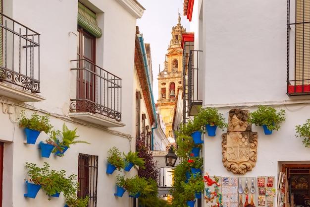 Blumenstraße calleja de las flores cordoba, spanien