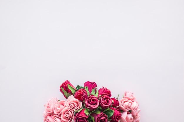 Blumenstrauß aus schönen rosen