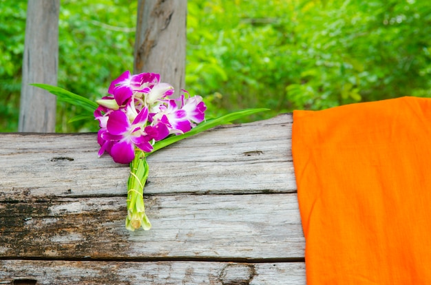 Blumenstrauß für religiöse zeremonien