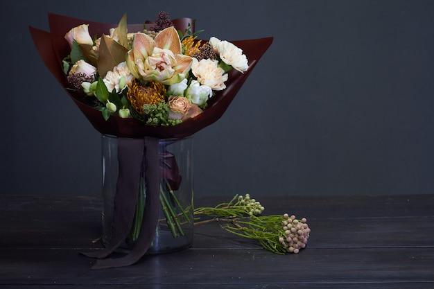 Blumenstrauß in einer vase