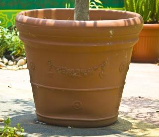 Blumentopf, keramik