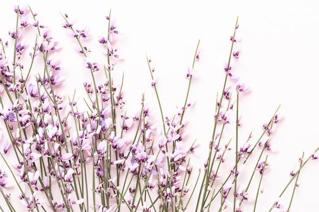 Blumenzusammensetzung draufsicht