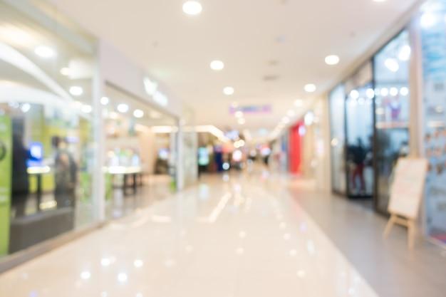 Blur einkaufszentrum