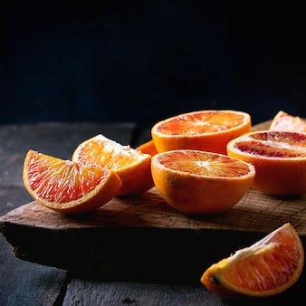 Blutorangenfrucht
