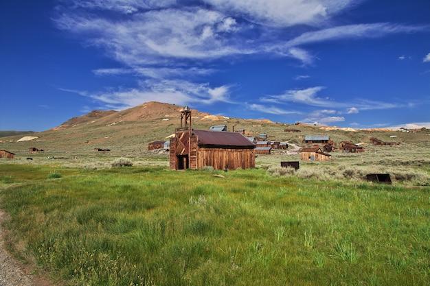 Bodie ist eine verlassene stadt der goldgräber