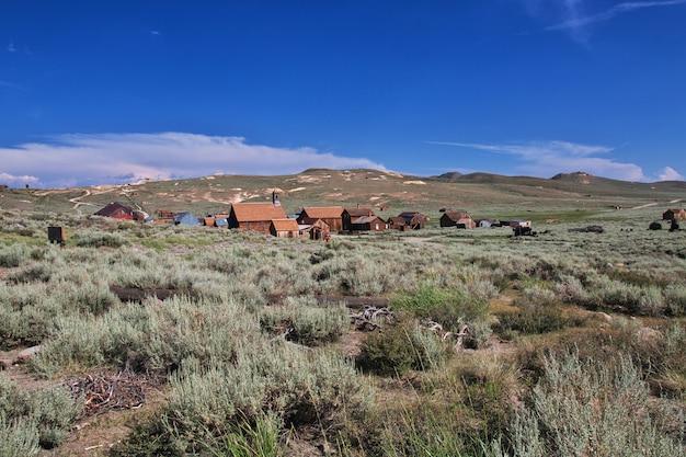 Bodie ist verlassene stadt der goldgräber