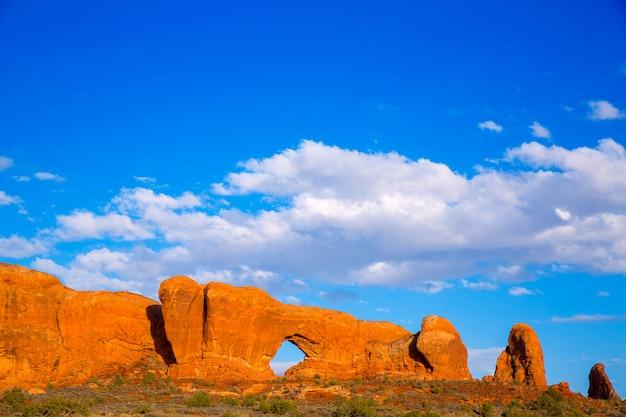 Bögen nationalpark in moab utah usa