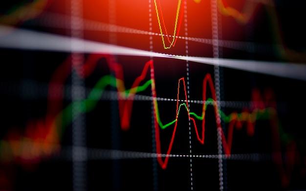 Börse austausch liniendiagramm preis