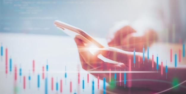 Börse marktkonzept