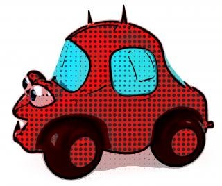 Böse auto