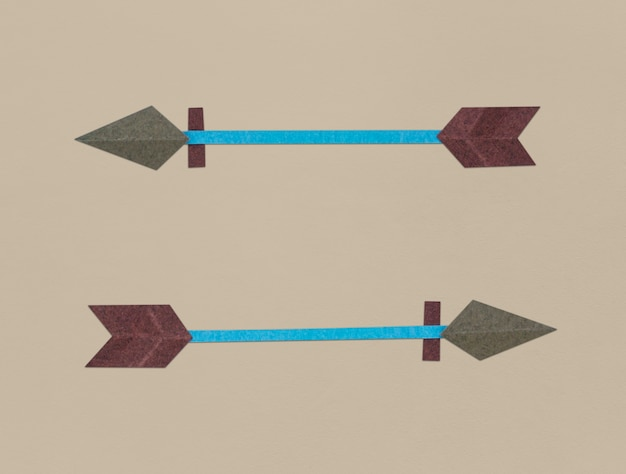 Bogen bogenschießen symbol symbol abbildung