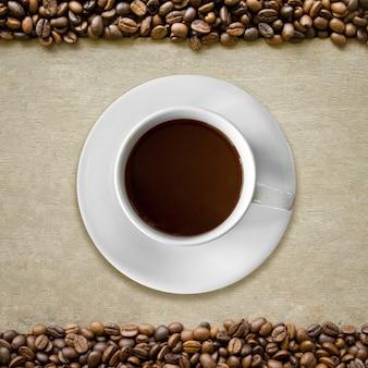 Bohne heißes getränk flüssigkeit café-menü