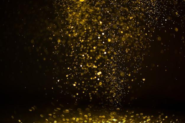 Bokeh abstrakter hintergrund vom diamantstaub