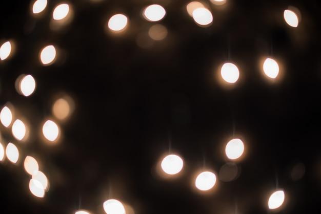 Bokeh - auszug unscharfer hintergrund - helle lecks