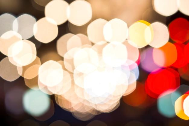 Bokeh defokussierte lichter hintergrund