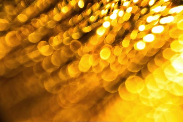 Bokeh gold hintergrund