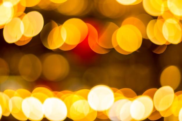Bokeh-hintergrund für ihr design in ihrem neuen jahr oder weihnachtstag.