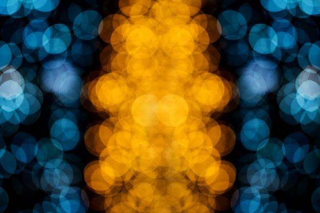 Bokeh-kreis, schöne abstrakte farben für weihnachtshintergrund