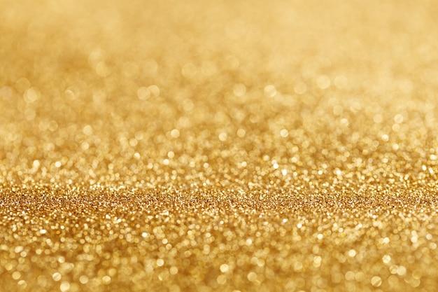 Bokeh licht aus gold glitzert