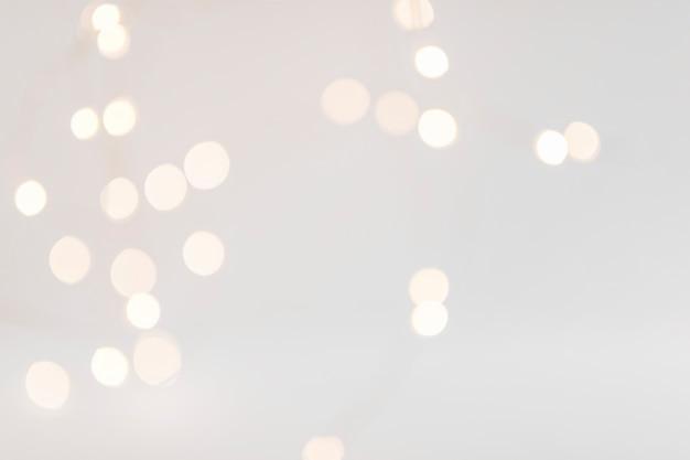 Bokeh lichter auf dunklem hintergrund