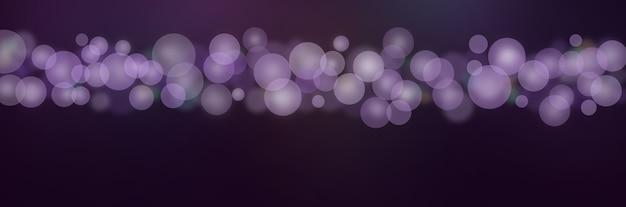 Bokeh lila lila farbverlauf hintergrund