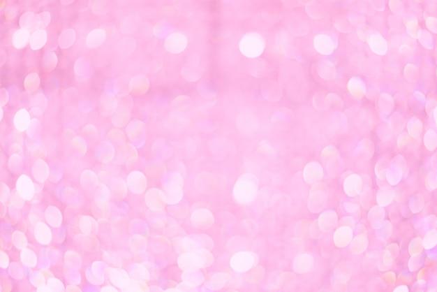 Bokeh verschwommen schöne glänzende lichter