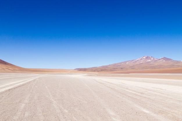 Bolivianische berglandschaft,bolivia.andean plateau-ansicht