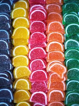 Bonbons von verschiedenen geschmacksrichtungen