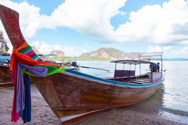 Boot auf dem fluss
