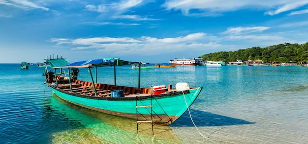 Boote in sihanoukville