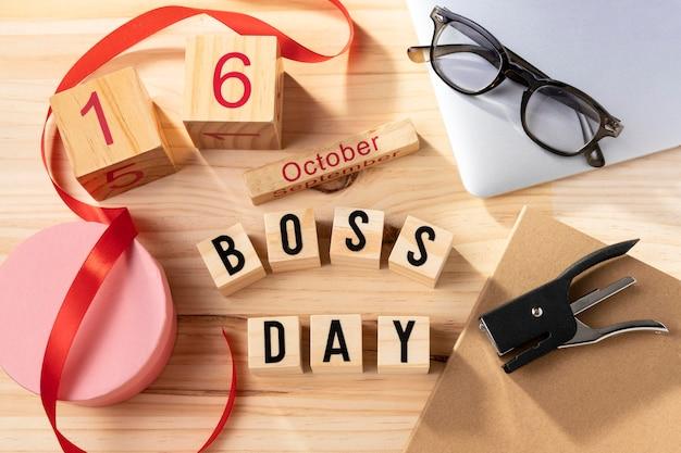 Boss day desk artikel und geschenk